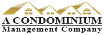 A Condominium Management Mobile Logo